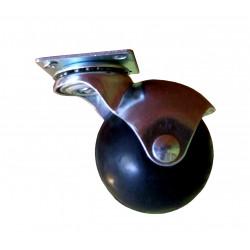 Kółko meblowe obrotowe kula